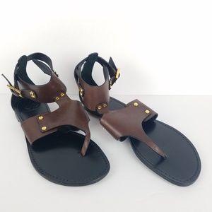 Tory Burch Gladiator Leather Sandals 9.5 EUC